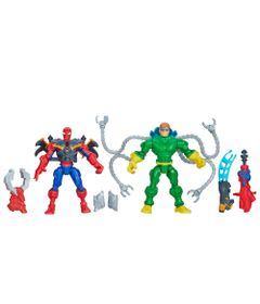 Bonecos-Marvel---Super-Hero-Mashers---Spider-Man-Vs-Doc-Ock---Hasbro