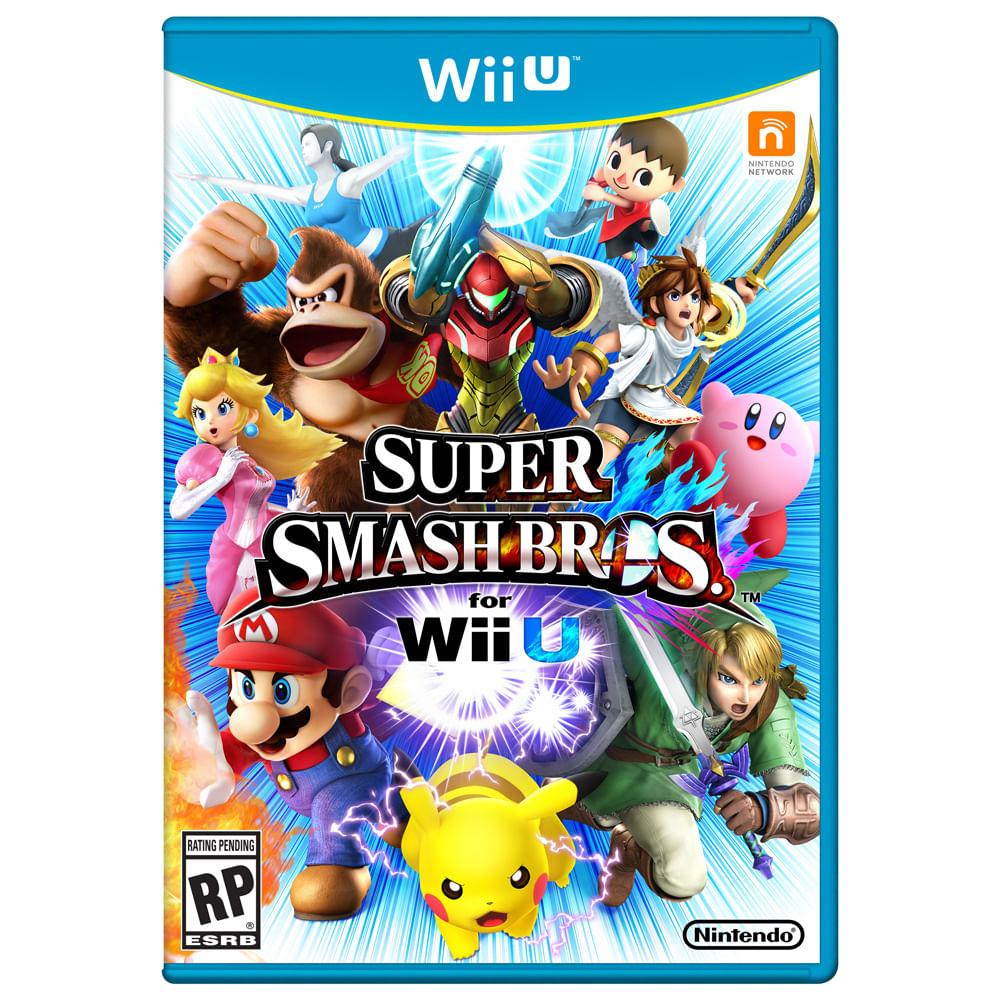 Jogo Nintendo Wii U - Super Smach Bros