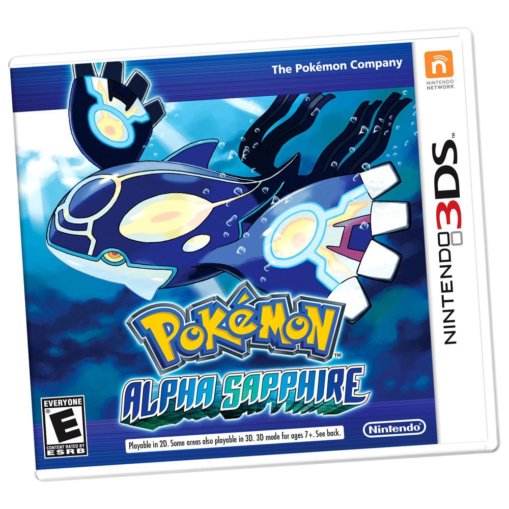Jogo Nintendo 3DS - Pokémon Alpha Sapphire