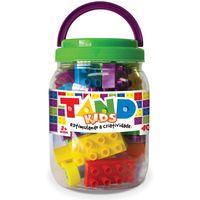 Pote-com-Blocos-de-Montar-Tand-Kids---40-Pecas---Toyster