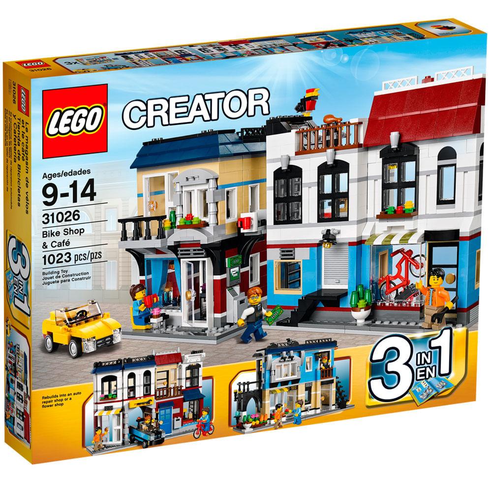 31026 - LEGO - Creator - Loja de Bicicletas e Café