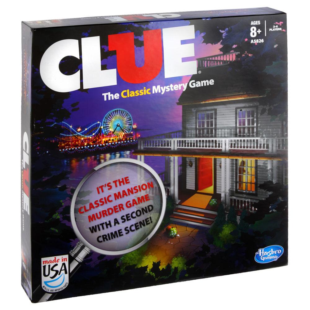 Jogo Clue - Hasbro