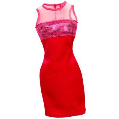 CFX65-Roupinha-para-Boneca-Barbie-Vestido-Vermelho-Mattel