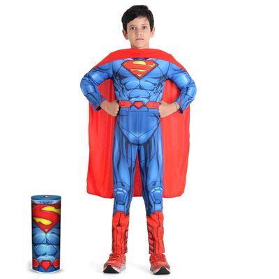 22552-Fantasia-Luxo-Super-Homem-DC-Comics-Sulamericana