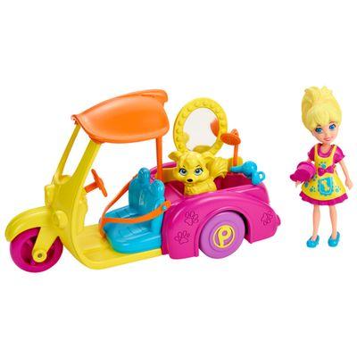 Boneca-Polly-Pocket---Super-Carrinho-Pet-Shop---Mattel