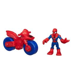 Boneco-com-Veiculo---Marvel-Super-Hero---Spider-Man---Playskool