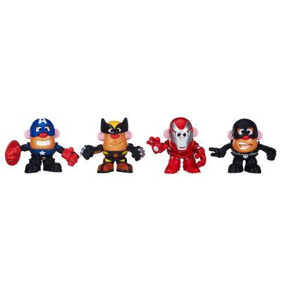1-Boneco-Mr.-Potato-Head---Mashups-Marvel---Spider-Man-Iron-Man-Wolverine-e-Capitao-America---Hasbro