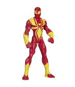 B1247-Boneco-Ultimate-Spider-Man-Web-Warriors-14-cm-Iron-Spider-Hasbro