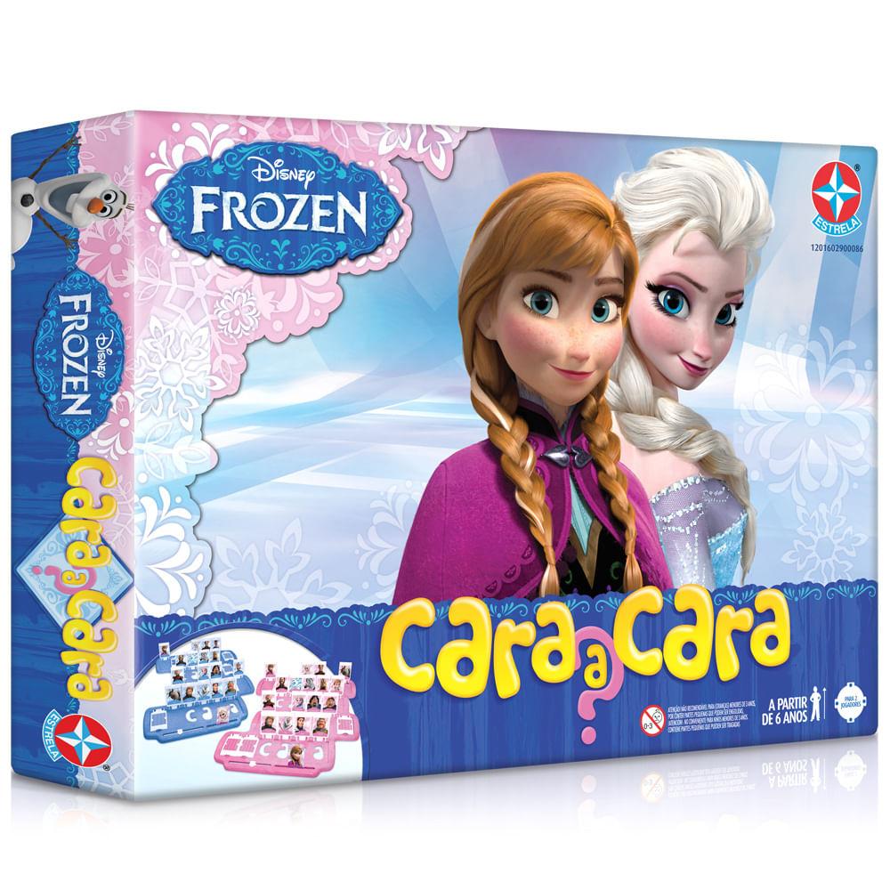 Jogo - Cara a Cara Disney Frozen - Estrela