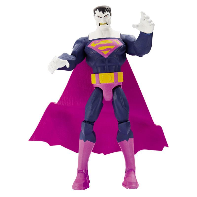 Boneco Figura Attack DC Comics - Superman Bizarro - Mattel