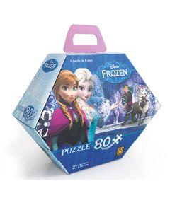Bolsa-Quebra-Cabeca-80-Pecas---Princesas-Disney-Frozen---Grow