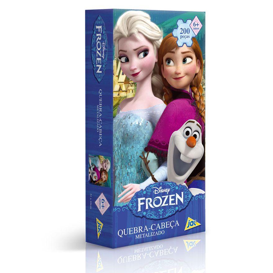 Quebra-Cabeca-Metalizado-Disney---Frozen---200-Pecas---Toyster