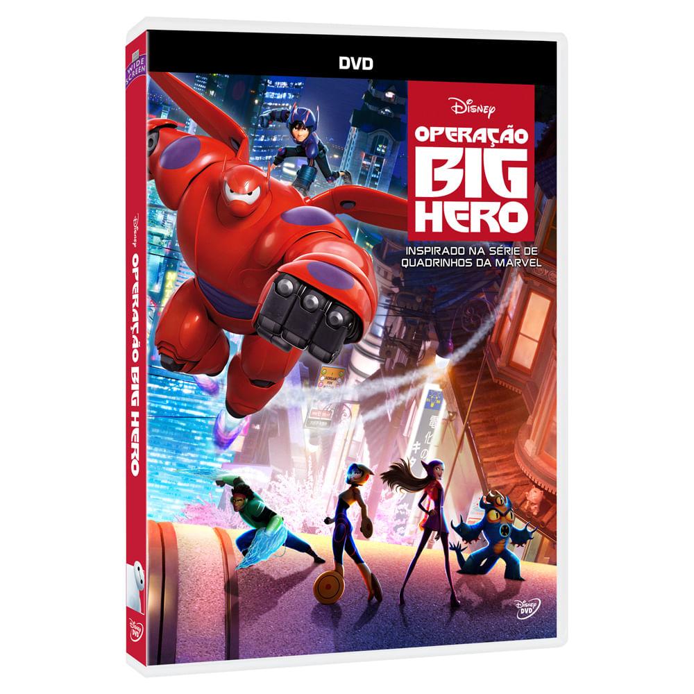 DVD - Operação Big Hero