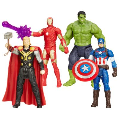 Kit-Bonecos-Avengers---A-Era-de-Ultron---Marvel---9-cm---Hasbro