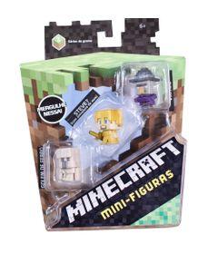 Figuras-Minecraf---Pack-com-3---Serie-7---Mattel
