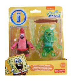Mini-Figuras-Bob-Esponja---Patrick-e-O-Holandes-Voador---Imaginext---Fisher-Price