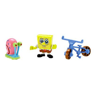 Mini-Figuras-Bob-Esponja---Bob-Esponja-e-Gary---Imaginext---Fisher-Price-1