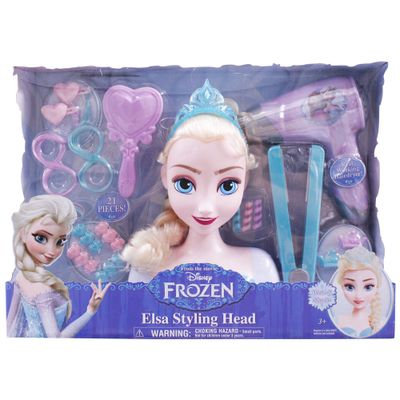 Busto-Princesas-Disney-Frozen-Deluxe---Elsa---New-Toys