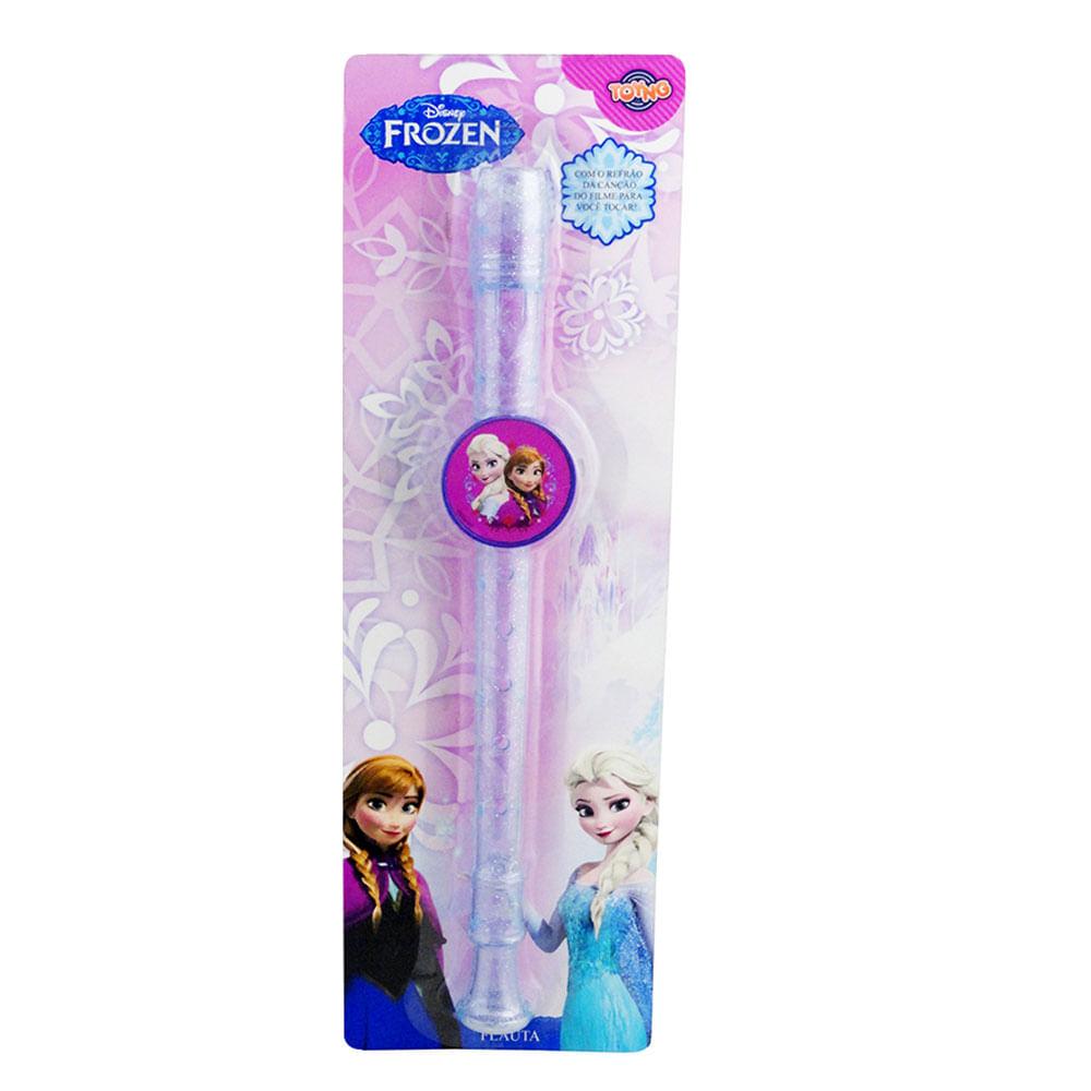 Flauta Doce - Disney Frozen - Rosa - Toyng