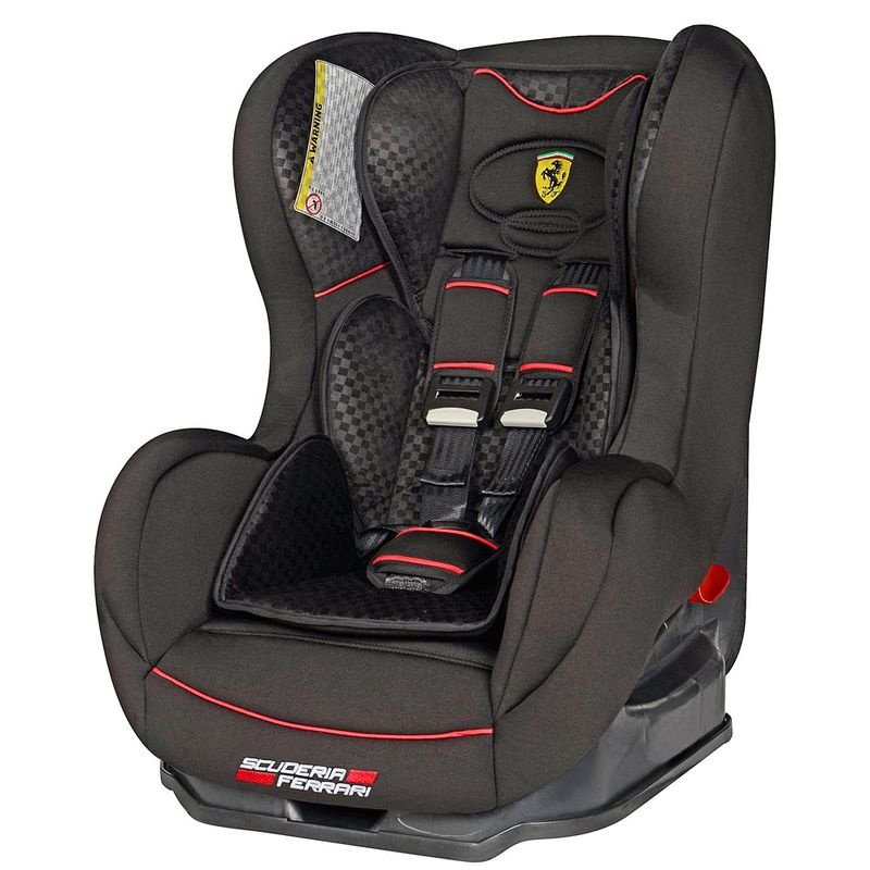 0d70d34f8bf1a Cadeira Para Auto - De 0 a 25 Kg - Cosmo SP - Ferrari Black - Team Tex - Ri  Happy Brinquedos