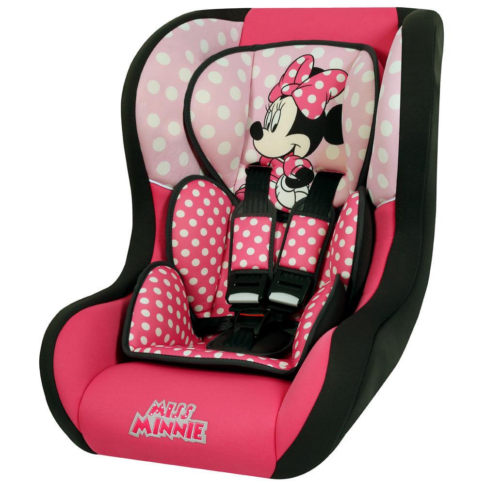 Cadeira Para Auto - De 0 a 25 Kg - Trio Comfort SP - Minnie Mouse - Team Tex - Disney