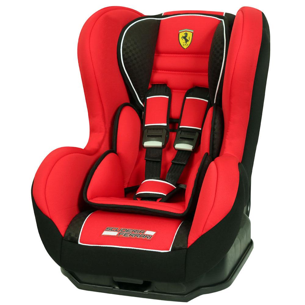 Cadeira Para Auto - De 0 a 25 Kg - Cosmo SP - Ferrari Red - Team Tex