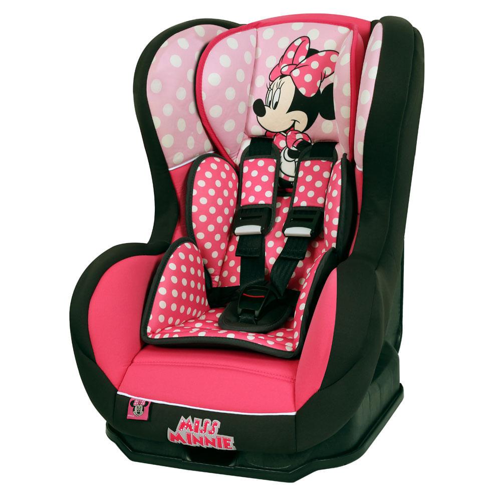 Cadeira Para Auto - De 0 a 25 Kg - Cosmo SP - Minnie Mouse - Team Tex - Disney