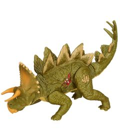 Figura-Jurassic-World---Dino-Duplo-Ataque---Stegoceratops---Verde---Hasbro-1