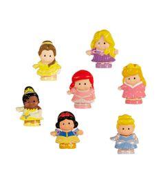 Pack-de-7-Figuras---Princesas-Disney---Mattel