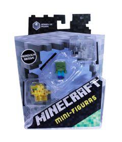 Figuras-Minecraf---Pack-com-3---Serie-8---Mattel