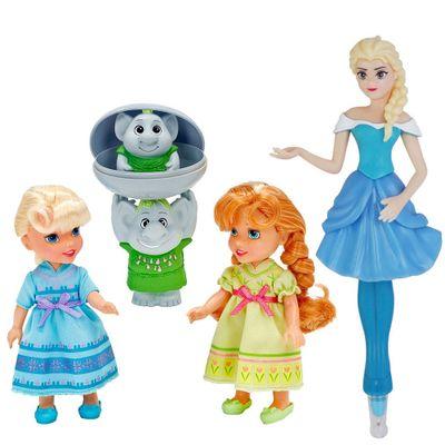 6370c65541 Bonecas Disney Frozen - Anna e Elsa com Trolls + Caneta Elsa - Ri ...