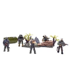 Playset-Mega-Bloks---Call-of-Duty---Jungle-Troopers---Mattel