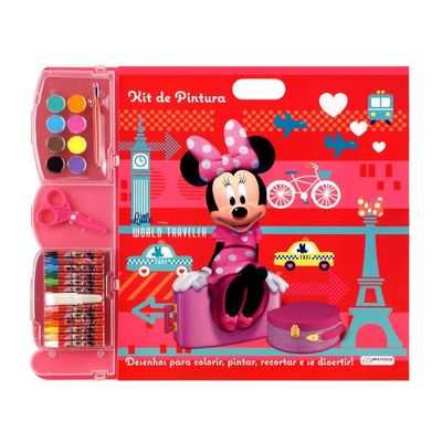 Kit-de-Pintura---Disney-Minnie-Mouse---Multikids
