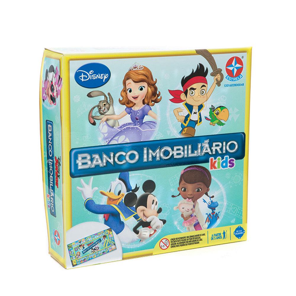 Jogo Banco Imobiliário Kids - Disney Junior - Estrela