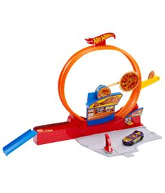 Pista-Hot-Wheels-Pizza-Super-Veloz-Mattel