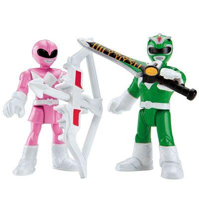Mini-Figuras-Imaginext-Go-Go-Power-Rangers-Rangers-Rosa-e-Verde-Fisher-Price
