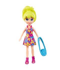 Boneca-Polly-Pocket-Polly-com-Bolsa-Azul-Mattel