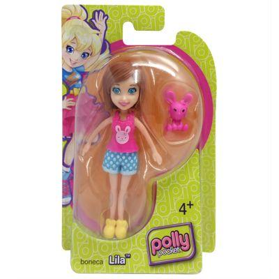 Boneca-Polly-Pocket-Lila-com-Coelhinho-Rosa-Mattel