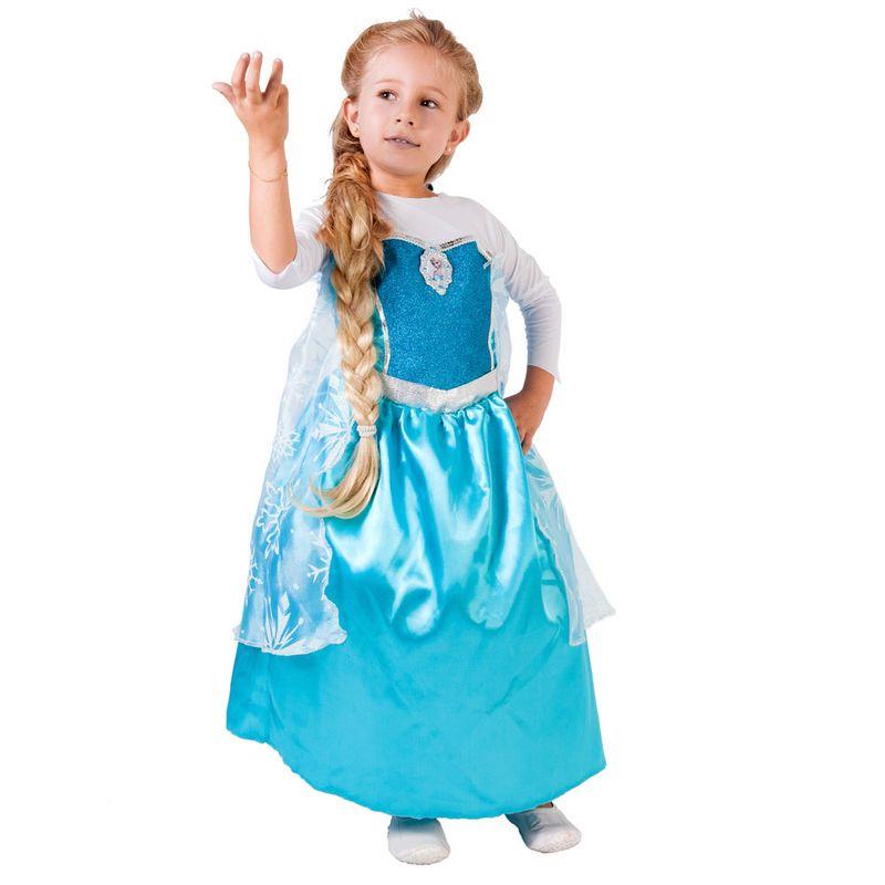 6b3d3d86154d73 Fantasia Infantil Frozen - Princesa Elsa - Global Fantasias - Disney ...