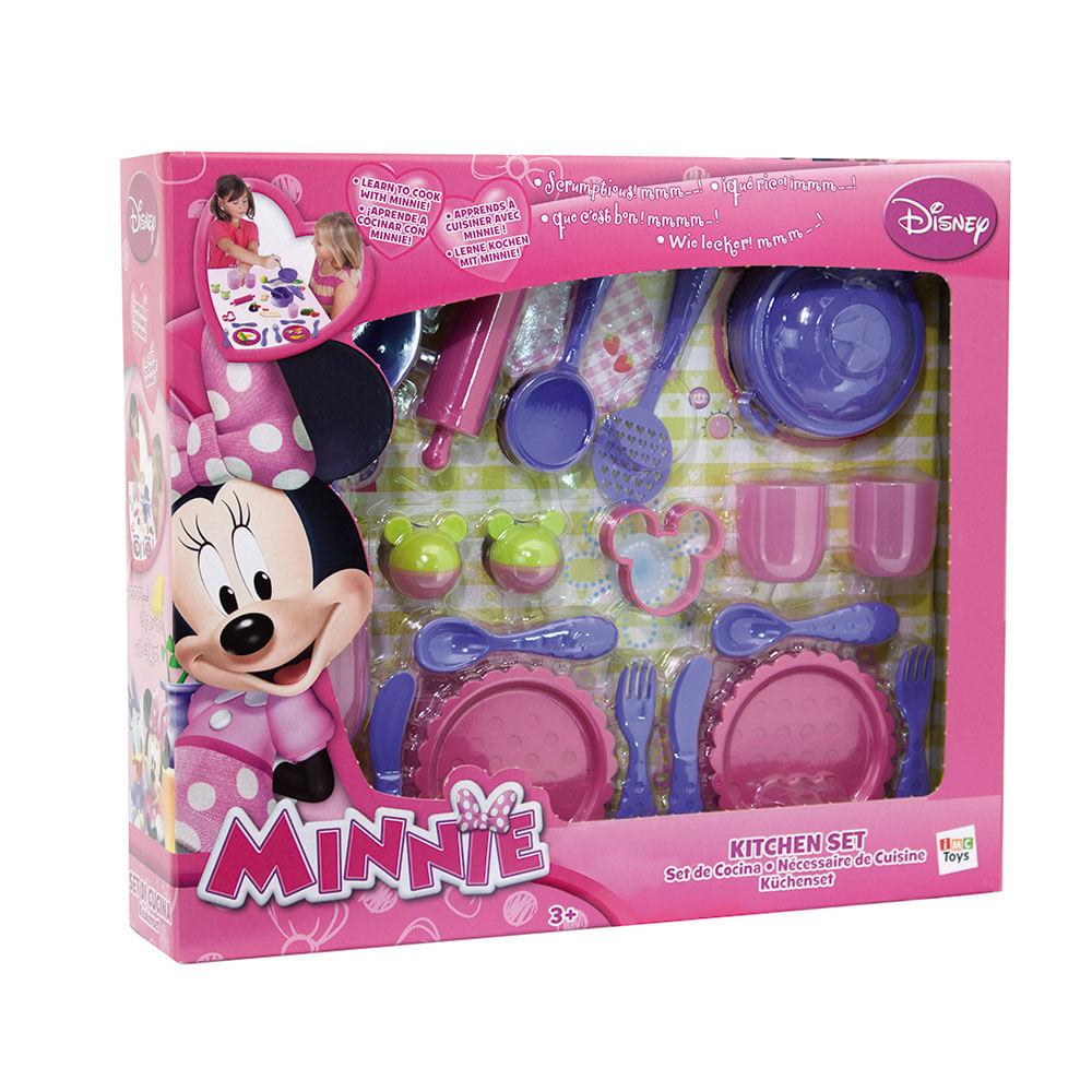 Conjunto Cozinhando com a Minnie - 20 Peças - Zippy Toys