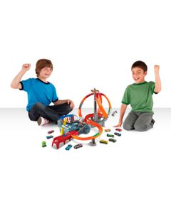Pista-Hot-Wheels---Loopings-Revolution---Mattel-1