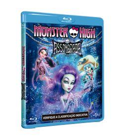 Blu-Ray---Monster-High---Assombrada---Paramount