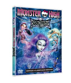 DVD---Monster-High---Assombrada---Paramount
