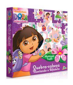 5013667-2025-Quebra-cabeca-Dora-a-Aventureira-26-Pecas-Toyster