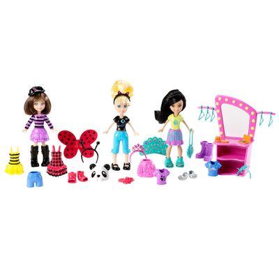 5032844-CJT33-Boneca-Polly-Pocket-Conjunto-Festa-a-Fantasia-Mattel