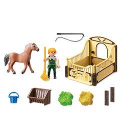 Playmobil-Country---Cavalo-Marrom-Claro---5517