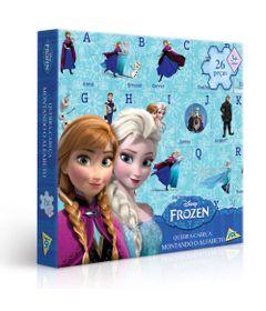 Quebra-Cabeca-Montando-o-Alfabeto---Disney-Frozen---26-Pecas---Toyster-1