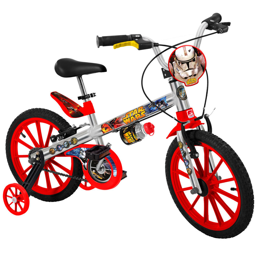 Bicicleta Star Wars - Aro 16 - Bandeirante
