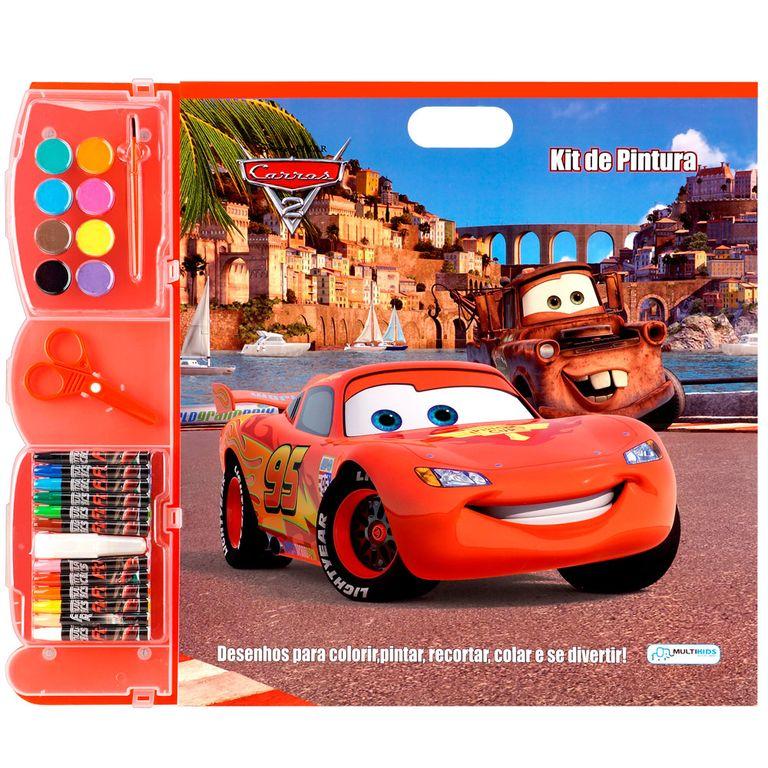 Kit De Pintura Carros Disney Multikids Ri Happy Brinquedos