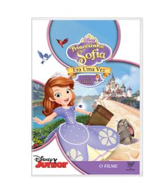DVD-Princesinha-Sofia---Era-uma-Vez---Disney